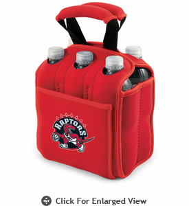 Picnic Time NBA - Red Six Pack Carrier Toronto Raptors