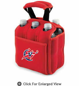 Picnic Time NBA - Red Six Pack Carrier Washington Wizards