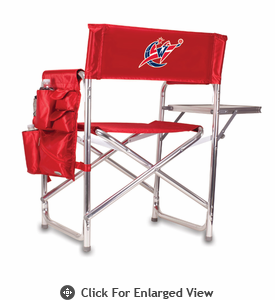Picnic Time NBA - Red Sports Chair Washington Wizards