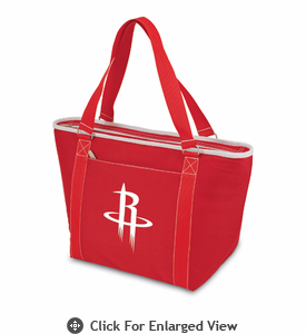 Picnic Time NBA - Red Topanga Cooler Tote Houston Rockets
