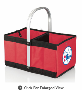 Picnic Time NBA - Red Urban Basket Philadelphia 76ers