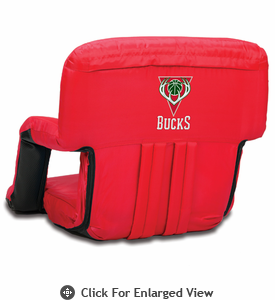 Picnic Time NBA - Red Ventura Seat Milwaukee Bucks