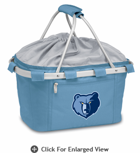 Picnic Time NBA - Sky Blue Metro Basket Memphis Grizzlies