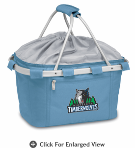 Picnic Time NBA - Sky Blue Metro Basket Minnesota Timberwolves