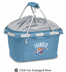 Picnic Time NBA - Sky Blue Metro Basket Oklahoma City Thunder