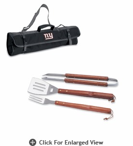Picnic Time NFL - 3-pc BBQ Tote New York Giants