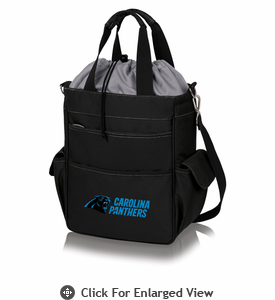 Picnic Time NFL - Activo Cooler Tote Carolina Panthers Black w/ Grey