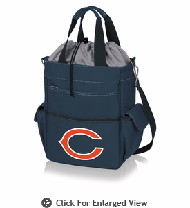 Picnic Time NFL - Activo Cooler Tote Chicago Bears Navy Blue