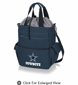Picnic Time NFL - Activo Cooler Tote Dallas Cowboys Navy Blue