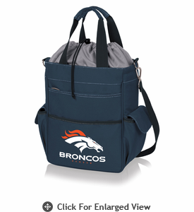 Picnic Time NFL - Activo Cooler Tote Denver Broncos Navy Blue