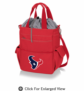 Picnic Time NFL - Activo Cooler Tote Houston Texans Red
