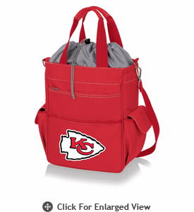 Picnic Time NFL - Activo Cooler Tote Kansas City Chiefs Red
