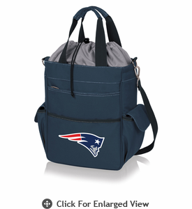 Picnic Time NFL - Activo Cooler Tote New England Patriots Navy Blue