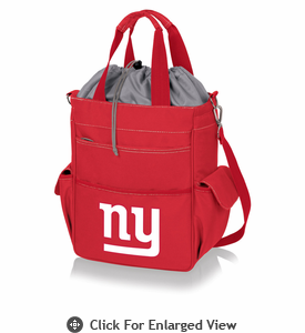 Picnic Time NFL - Activo Cooler Tote New York Giants Red