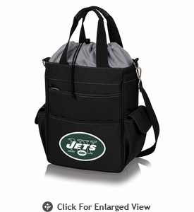 Picnic Time NFL - Activo Cooler Tote New York Jets Black w/ Grey