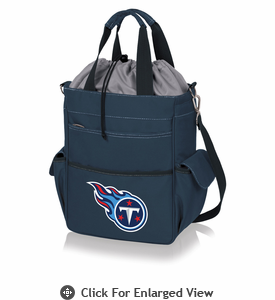 Picnic Time NFL - Activo Cooler Tote Tennessee Titans Navy Blue