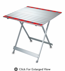 Picnic Time NFL - Aluminum Travel Table Buffalo Bills