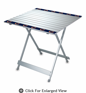 Picnic Time NFL - Aluminum Travel Table Chicago Bears
