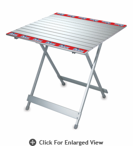 Picnic Time NFL - Aluminum Travel Table New England Patriots