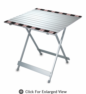 Picnic Time NFL - Aluminum Travel Table New York Giants