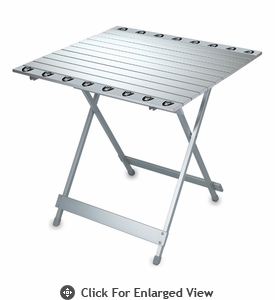 Picnic Time NFL - Aluminum Travel Table Oakland Raiders