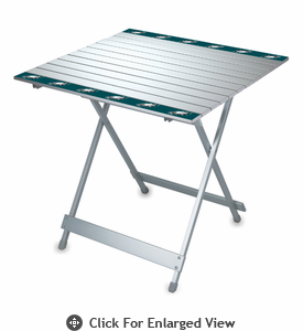 Picnic Time NFL - Aluminum Travel Table Philadelphia Eagles