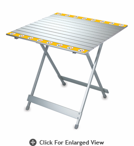 Picnic Time NFL - Aluminum Travel Table Pittsburgh Steelers