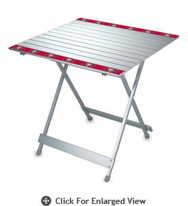 Picnic Time NFL - Aluminum Travel Table San Francisco 49ers
