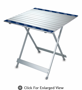 Picnic Time NFL - Aluminum Travel Table Tennessee Titans