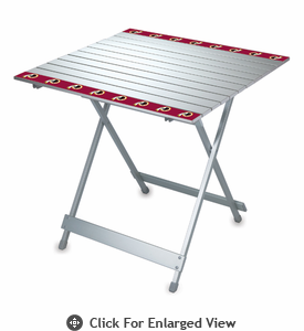 Picnic Time NFL - Aluminum Travel Table Washington Redskins