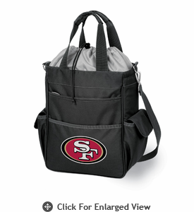 Picnic Time NFL - Black Activo San Francisco 49ers