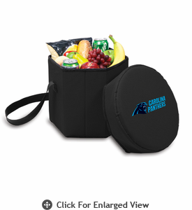Picnic Time NFL - Black Bongo Cooler Carolina Panthers