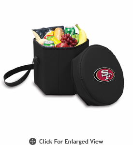 Picnic Time NFL - Black Bongo Cooler San Francisco 49ers