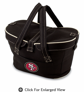 Picnic Time NFL - Black Mercado San Francisco 49ers