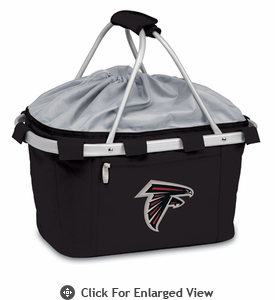 Picnic Time NFL - Black Metro Basket Atlanta Falcons