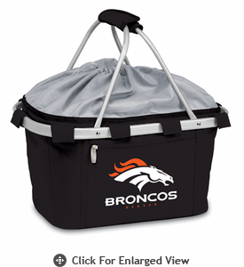 Picnic Time NFL - Black Metro Basket Denver Broncos