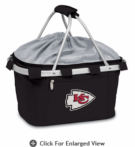 Picnic Time NFL - Black Metro Basket Kansas City Chiefs