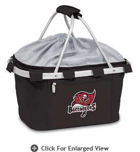 Picnic Time NFL - Black Metro Basket Tampa Bay Buccaneers