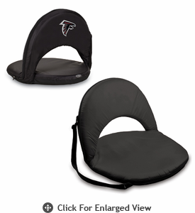 Picnic Time NFL - Black Oniva Seat Atlanta Falcons