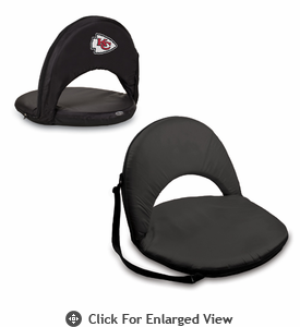 Picnic Time NFL - Black Oniva Seat Kansas City Chiefs