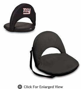Picnic Time NFL - Black Oniva Seat New York Giants