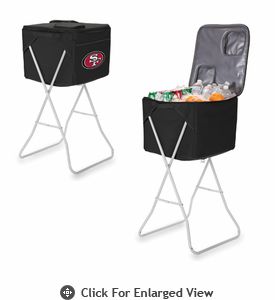 Picnic Time NFL - Black Party Cube San Francisco 49ers