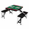 Picnic Time NFL - Black Picnic Table Sport Arizona Cardinals