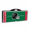 Picnic Time NFL - Black Picnic Table Sport Atlanta Falcons