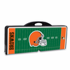 Picnic Time NFL - Black Picnic Table Sport Cleveland Browns