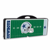 Picnic Time NFL - Black Picnic Table Sport Dallas Cowboys