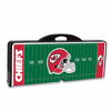 Picnic Time NFL - Black Picnic Table Sport Kansas City Chiefs