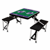 Picnic Time NFL - Black Picnic Table Sport Minnesota Vikings
