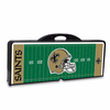 Picnic Time NFL - Black Picnic Table Sport New Orleans Saints