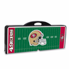 Picnic Time NFL - Black Picnic Table Sport San Francisco 49ers